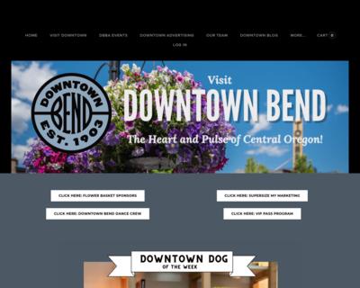 Screenshot of http://www.downtownbend.org/