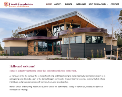Screenshot of http://www.hanaifoundation.org/