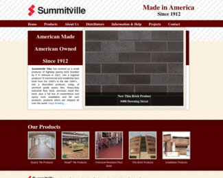 Screenshot of http://www.summitville.com/