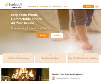 Screenshot of http://www.suntouch.com/