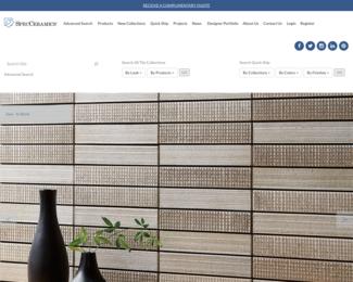 Screenshot of http://www.specceramics.com/
