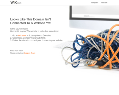Screenshot of http://www.hopinthespa.com/