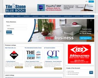 Screenshot of http://www.tileandstonebluebook.com/