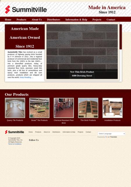 Summitville Tiles, Inc.