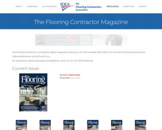 Screenshot of https://www.fcica.com/press-room/the-flooring-contractor