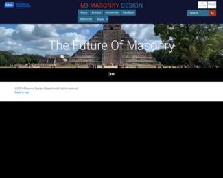 Screenshot of http://www.masonrydesignmagazine.com/