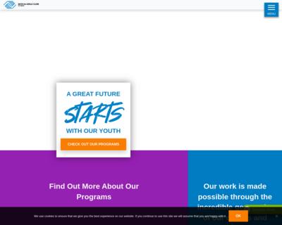Screenshot of https://www.bgcbend.org/