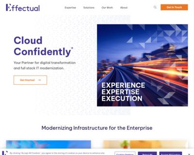 Screenshot of http://www.Effectual.com/