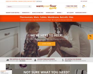Screenshot of http://www.warmyourfloor.com/
