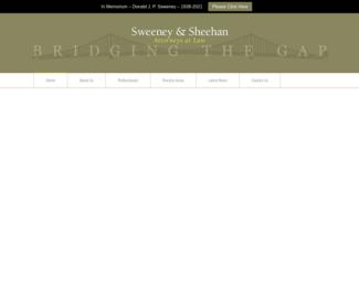 Screenshot of http://www.sweeneyfirm.com/