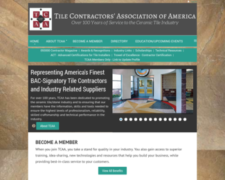 Screenshot of http://www.tcaainc.org/