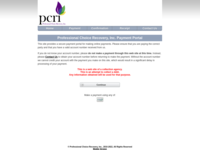 professional choice recovery inc login online bill payment and