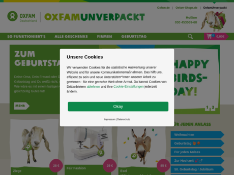 oxfam unverpackt de farmerama tulpgulden sammeln oxfam unverpackt einziegartige geschenke. Black Bedroom Furniture Sets. Home Design Ideas