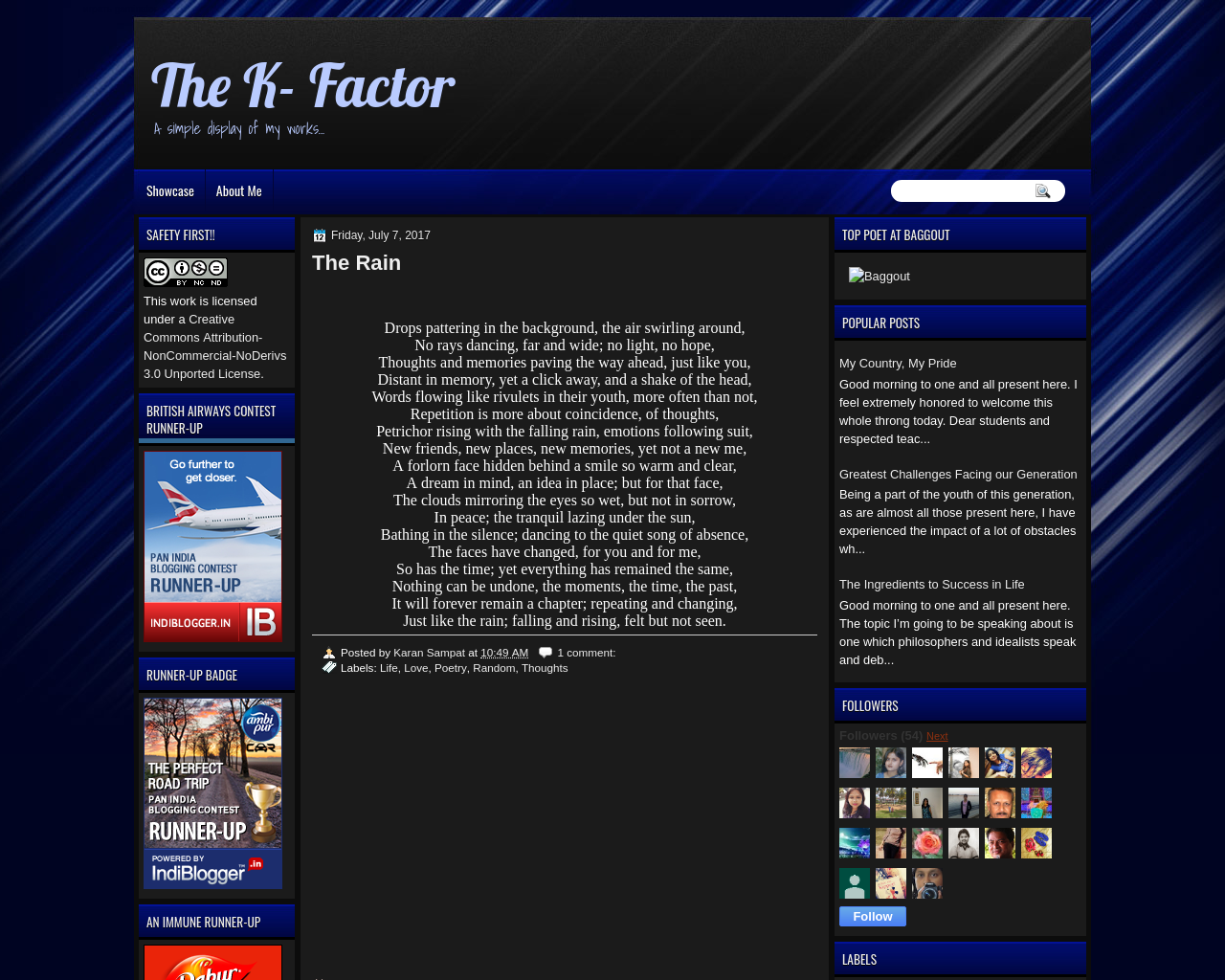 The K-Factor
