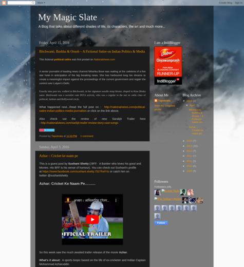 My Magic Slate