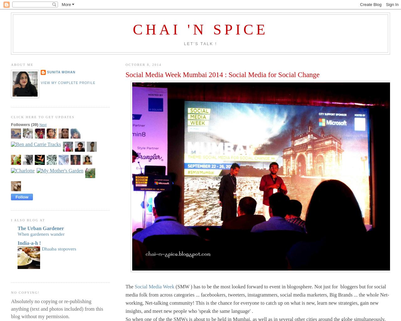 Chai 'n Spice