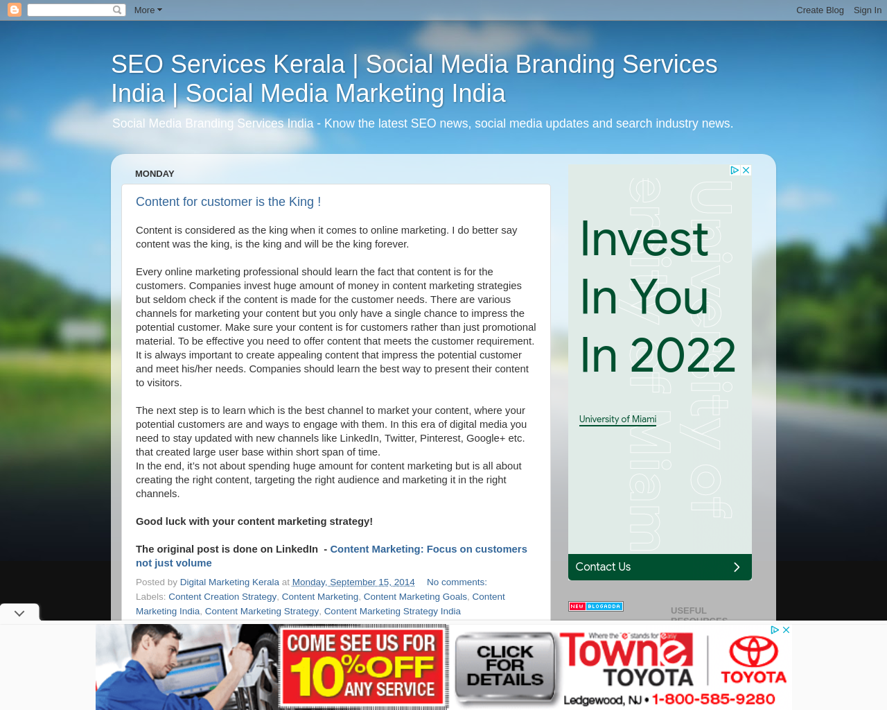 SEO Services Kerala