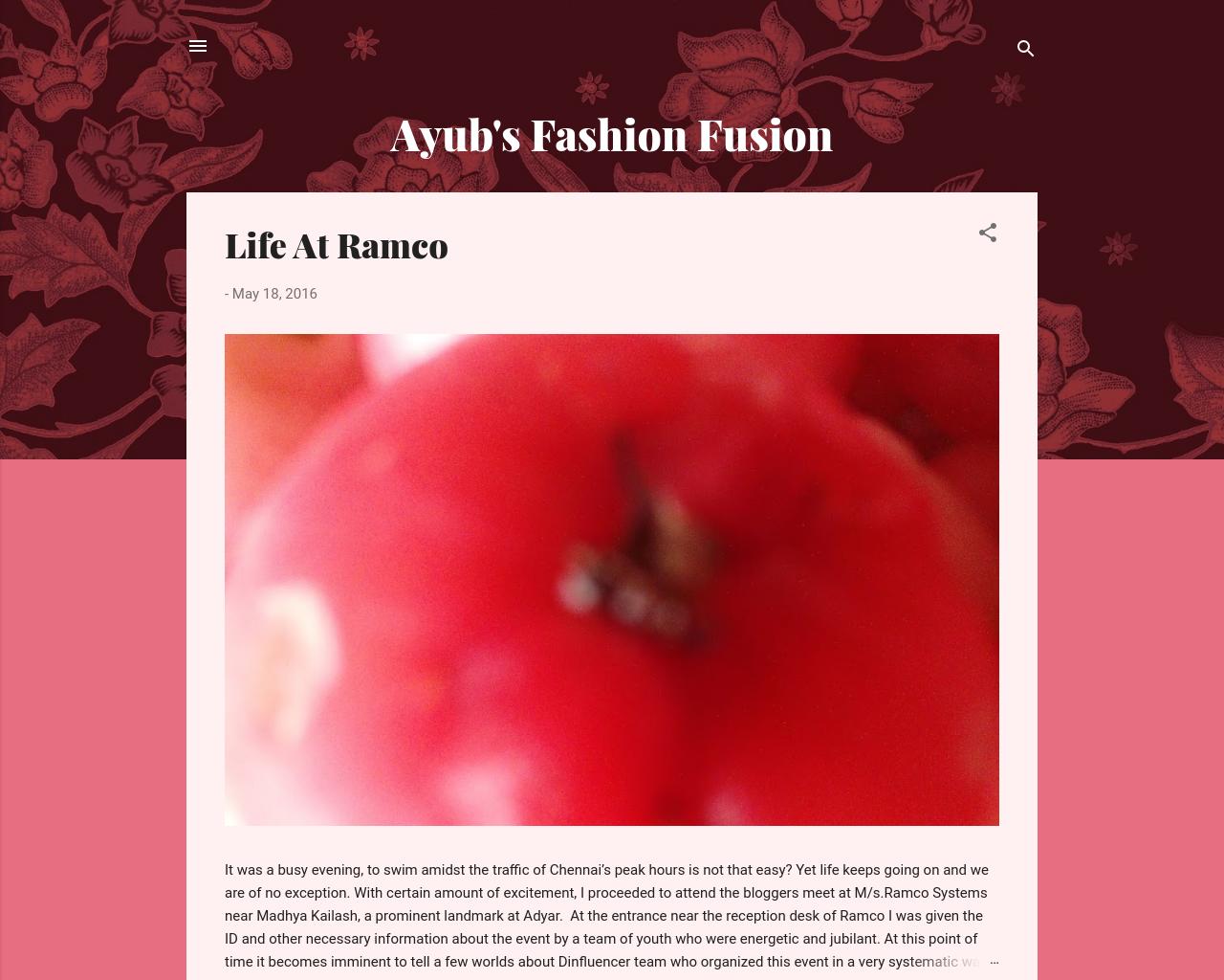 Ayub's Fashion Fusion