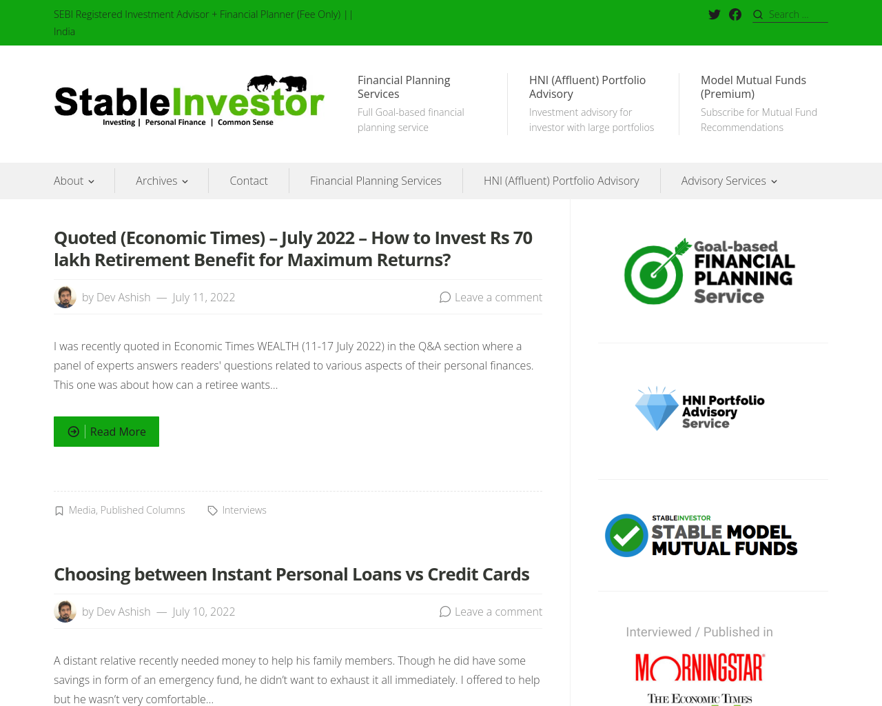 Stable Investor