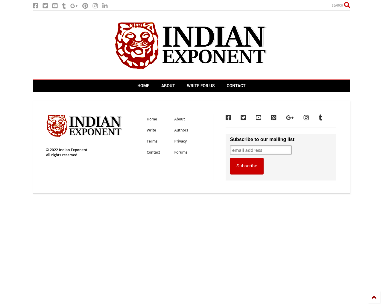Indian Exponent