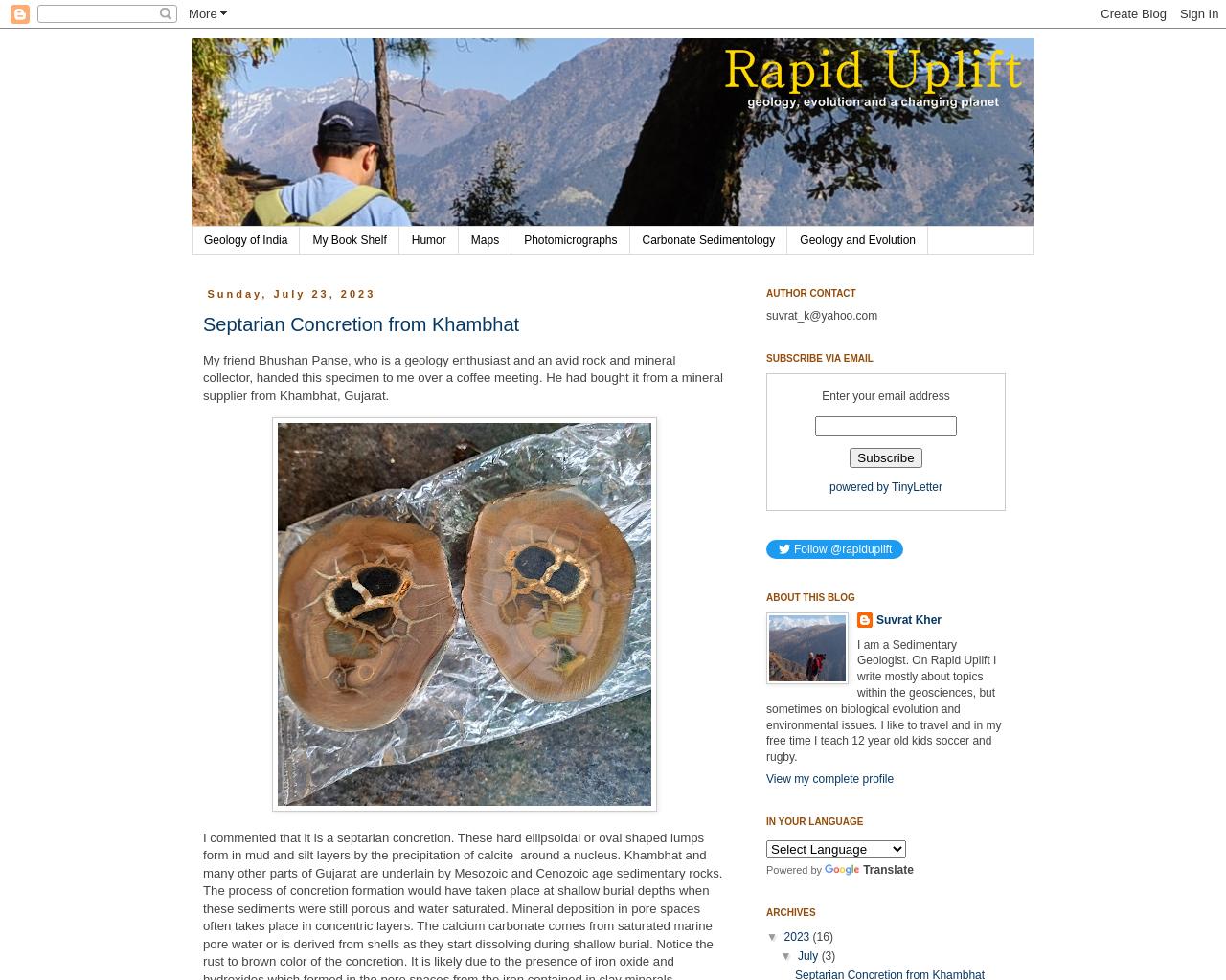 Rapid Uplift
