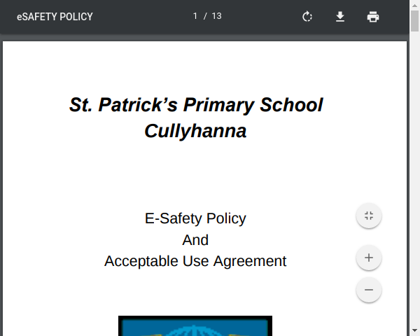 School E Safety Policy