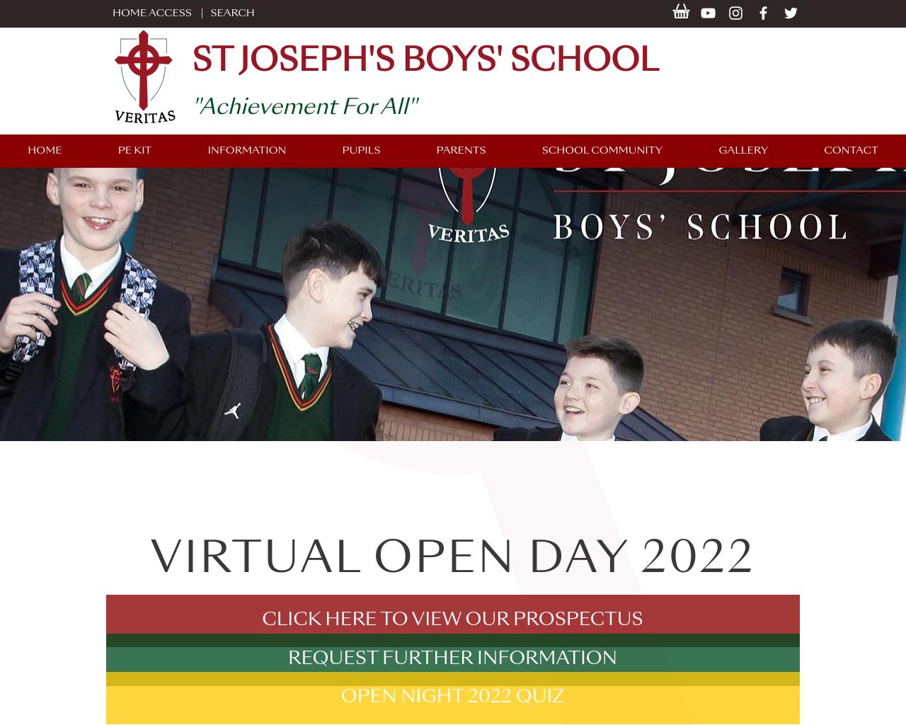 St. Joseph's Prospectus 2021