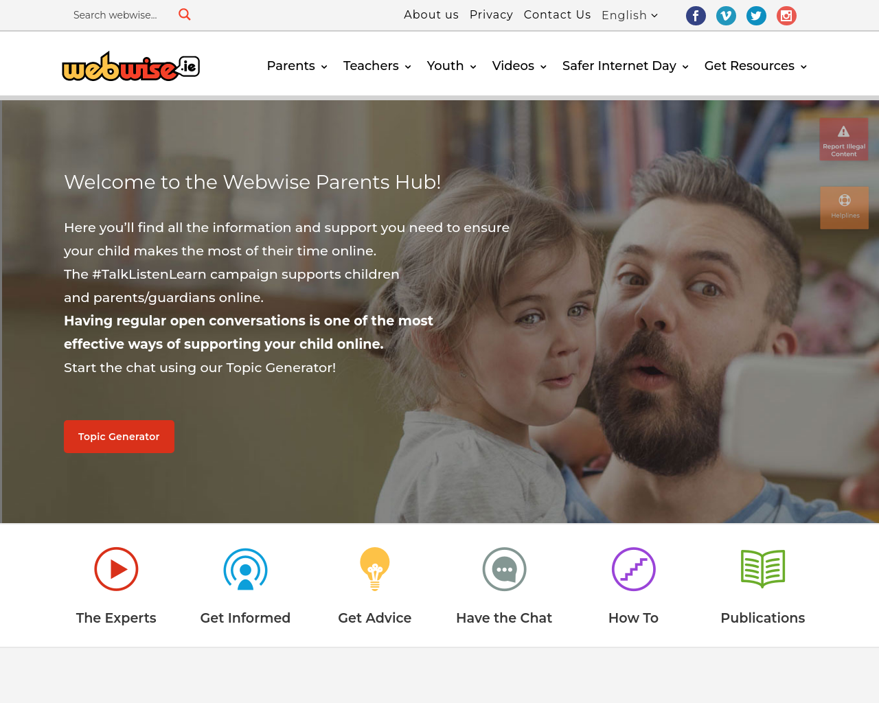 Webwise For Parents