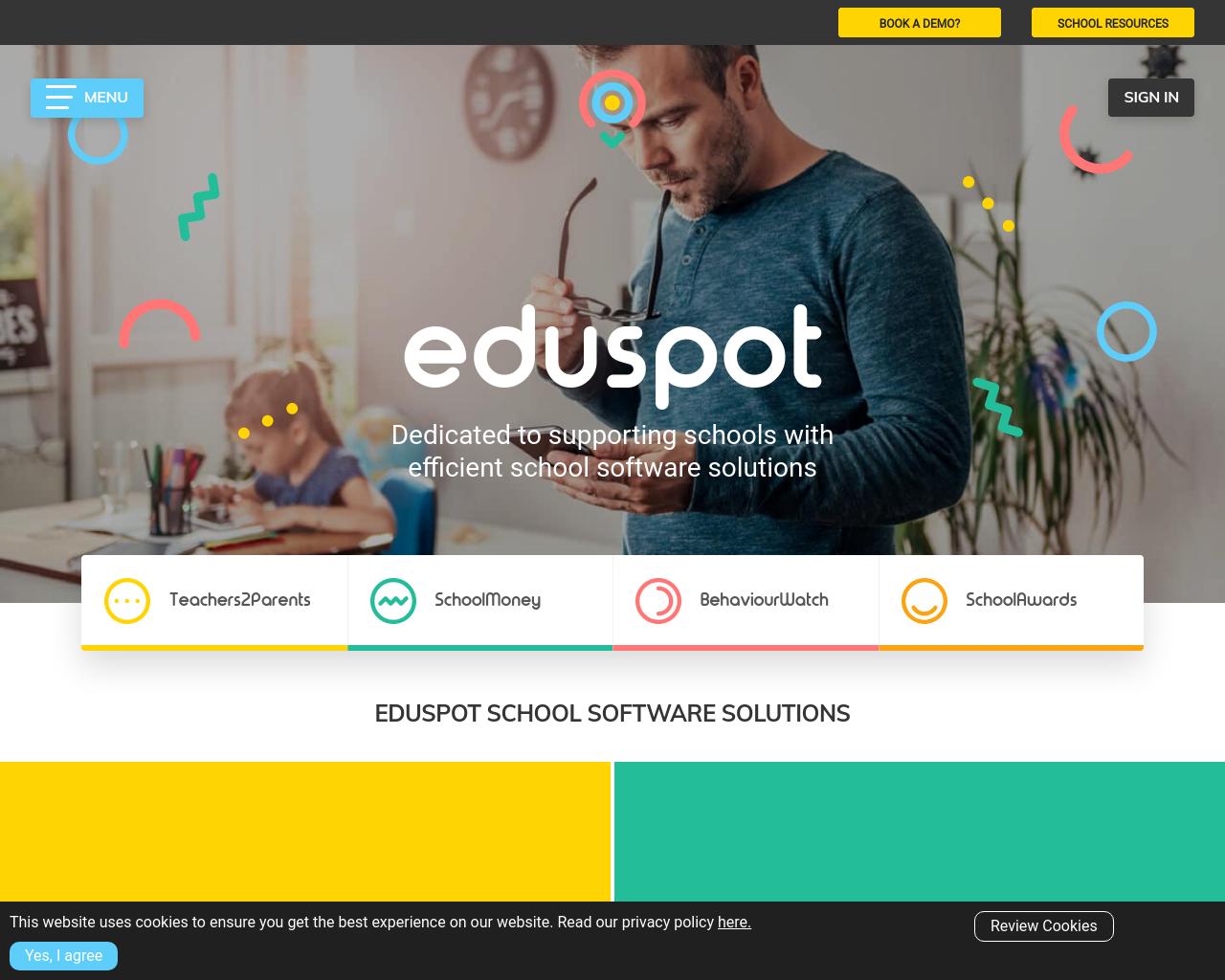 Eduspot - online payments