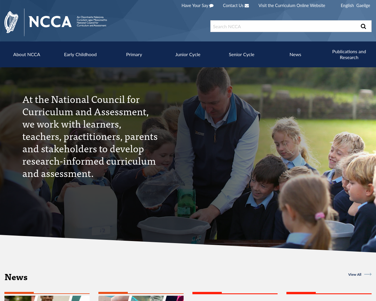 The National Council for Curriculum and Assessment