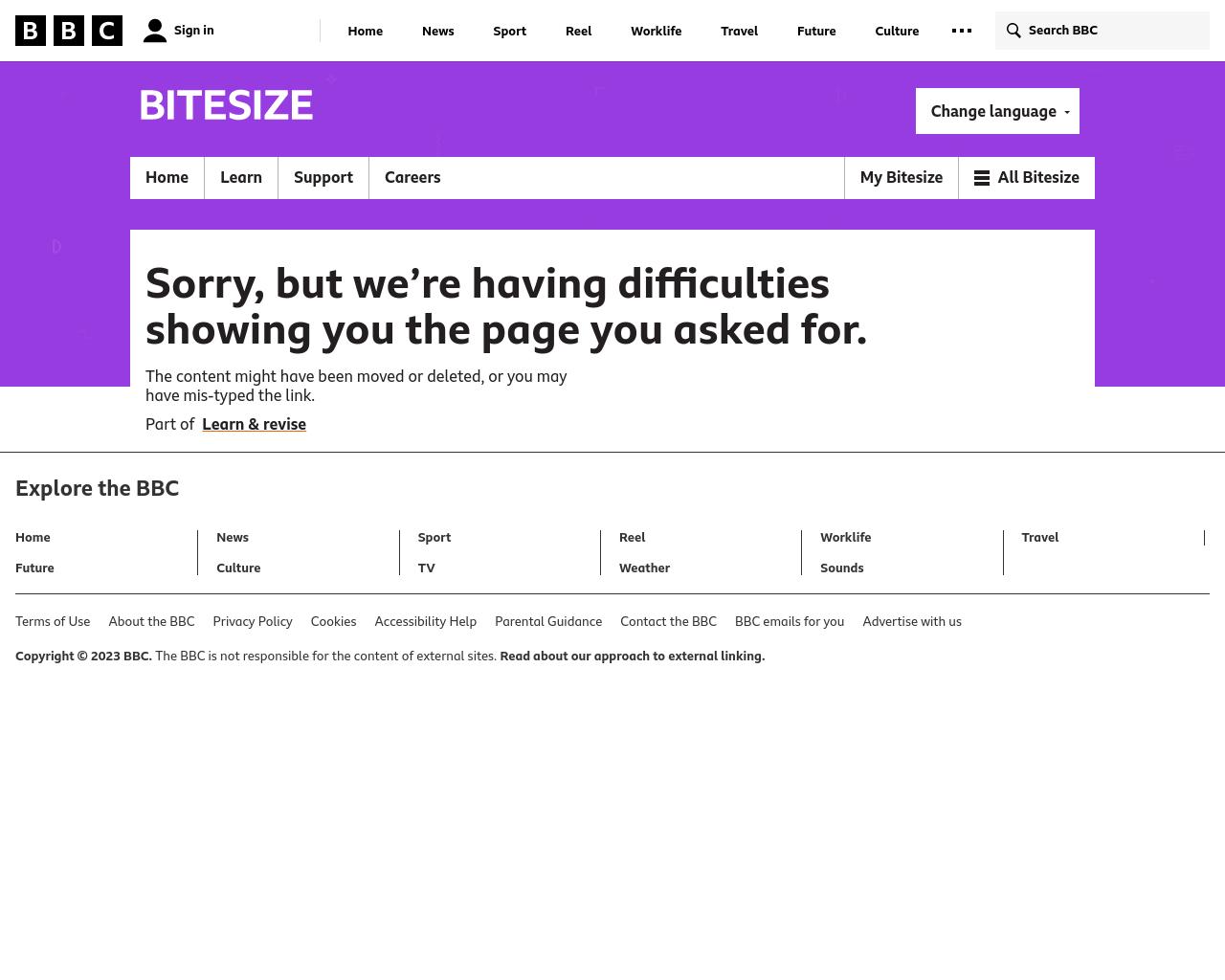 Rainforest BBC Bitesize