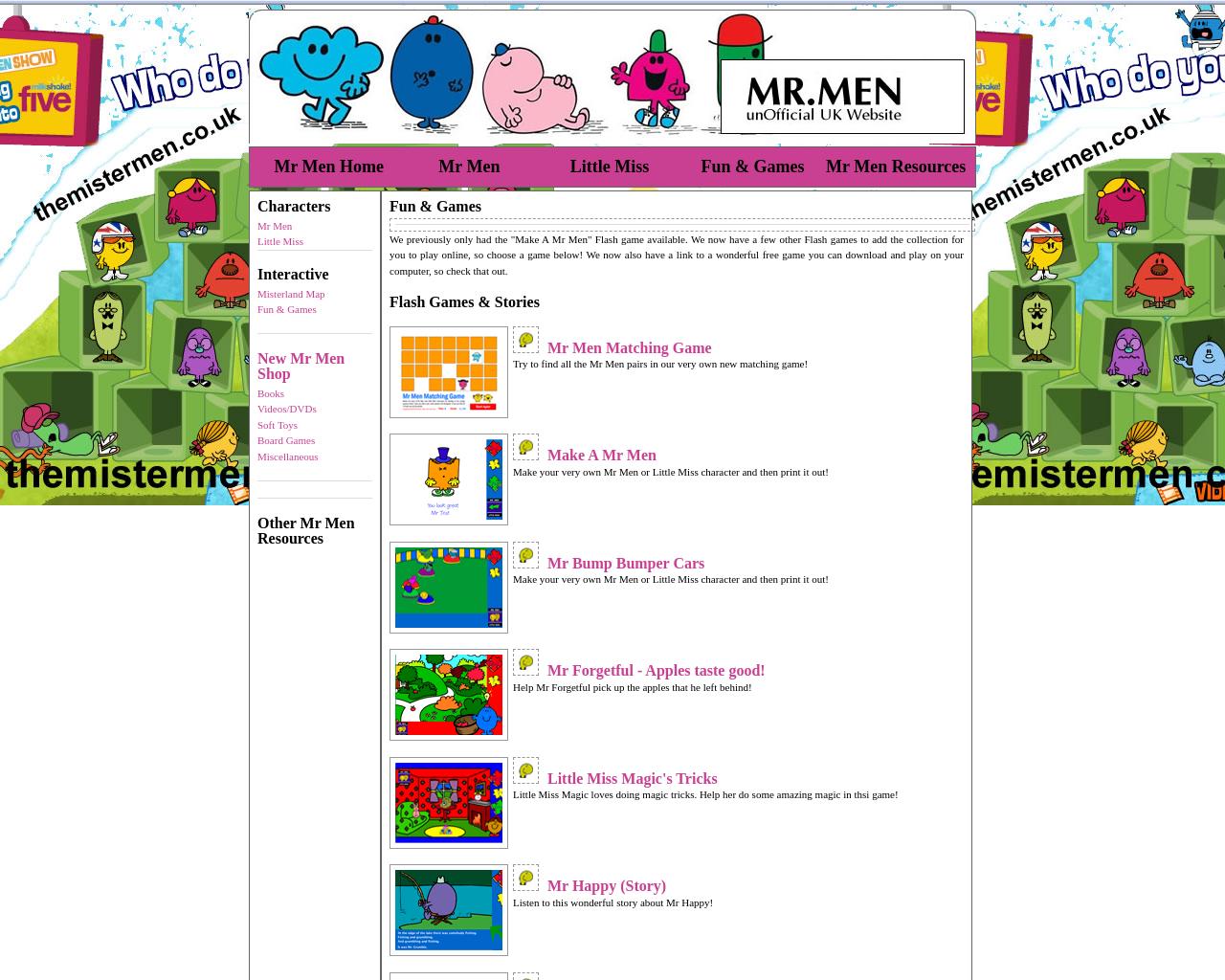 The Mister Men