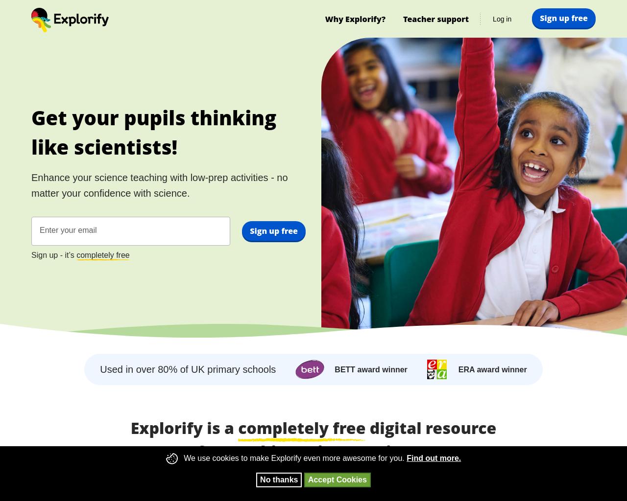 Explorify Science Activities