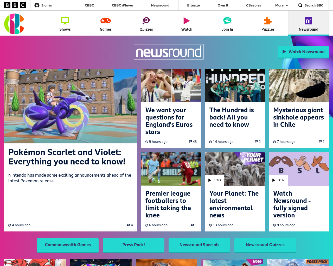 CBBC Newsround
