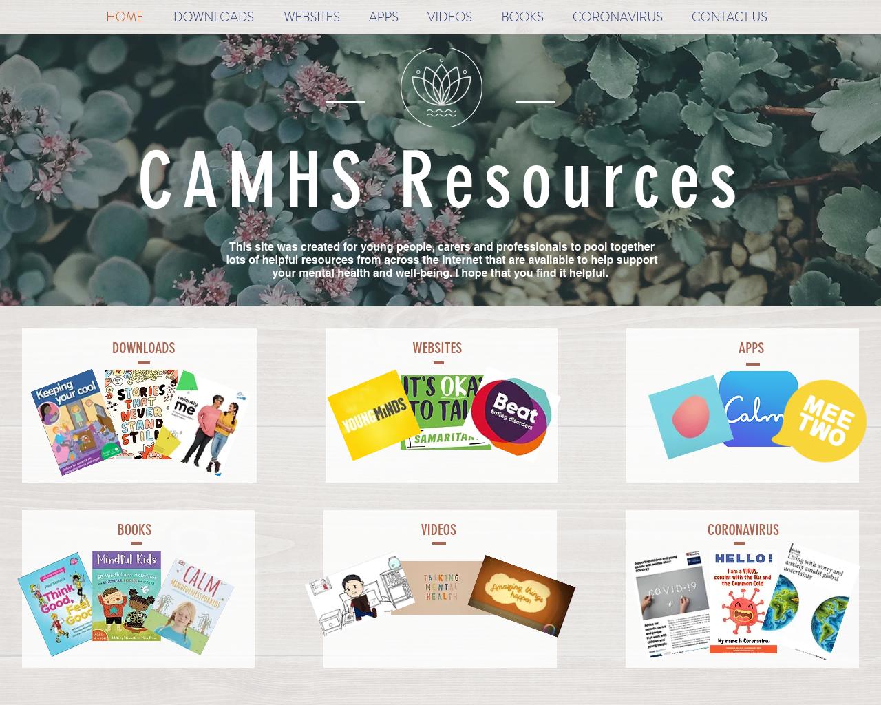 CAHMS Resources