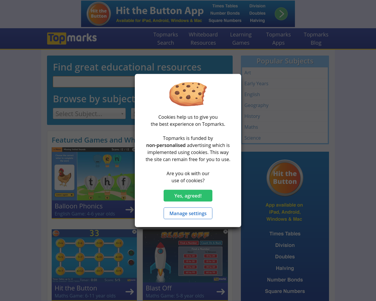 Literacy and Numeracy games
