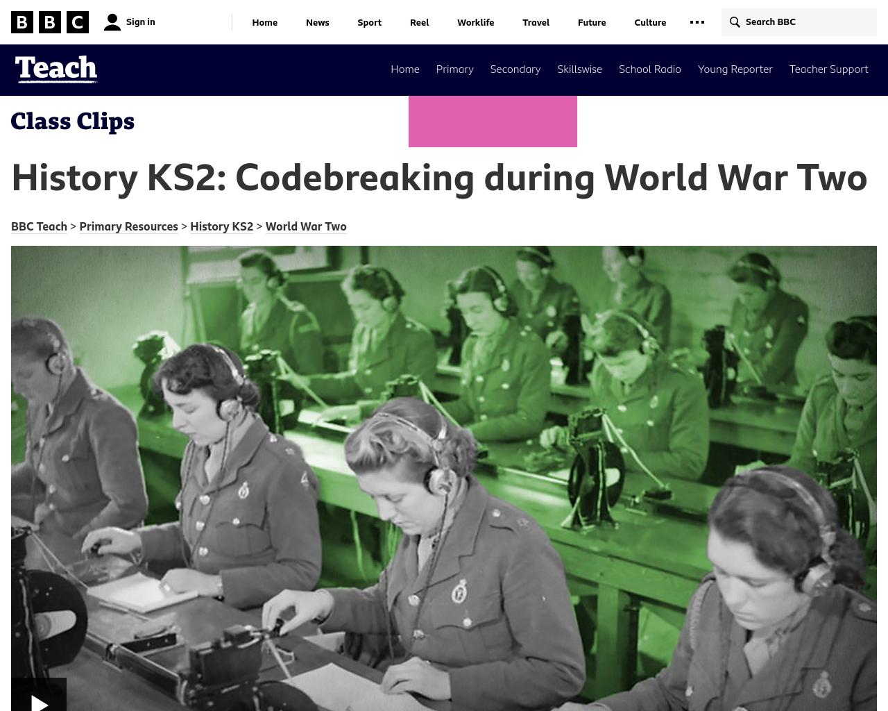 Codebreaking during WW2