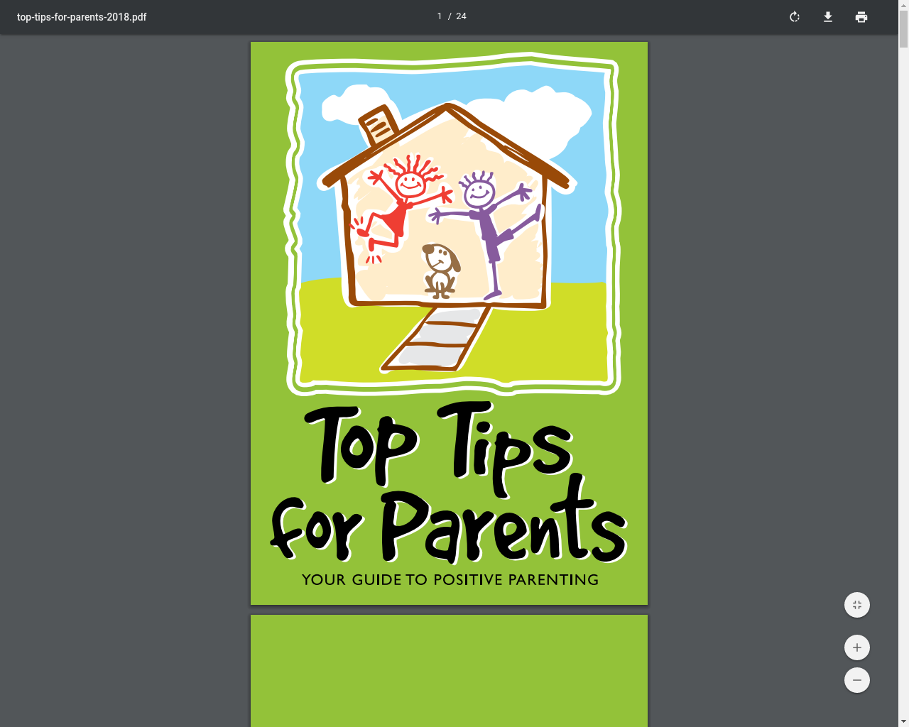 Top Tips for Parents