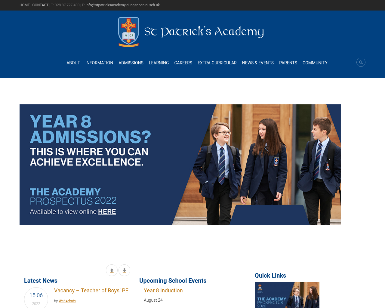 St Patrick's Academy Dungannon