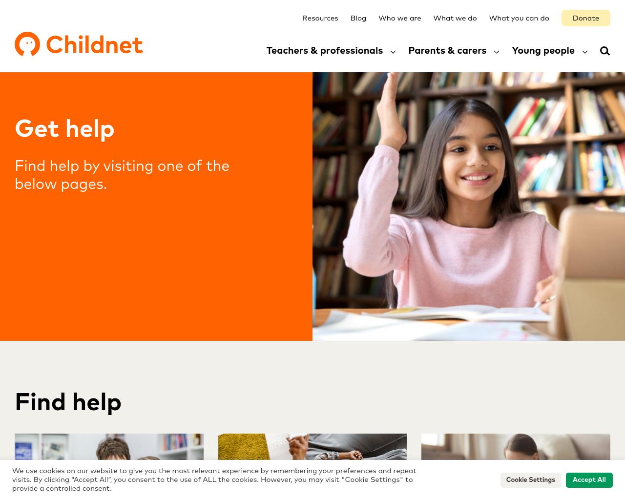 ChildNet Help Page