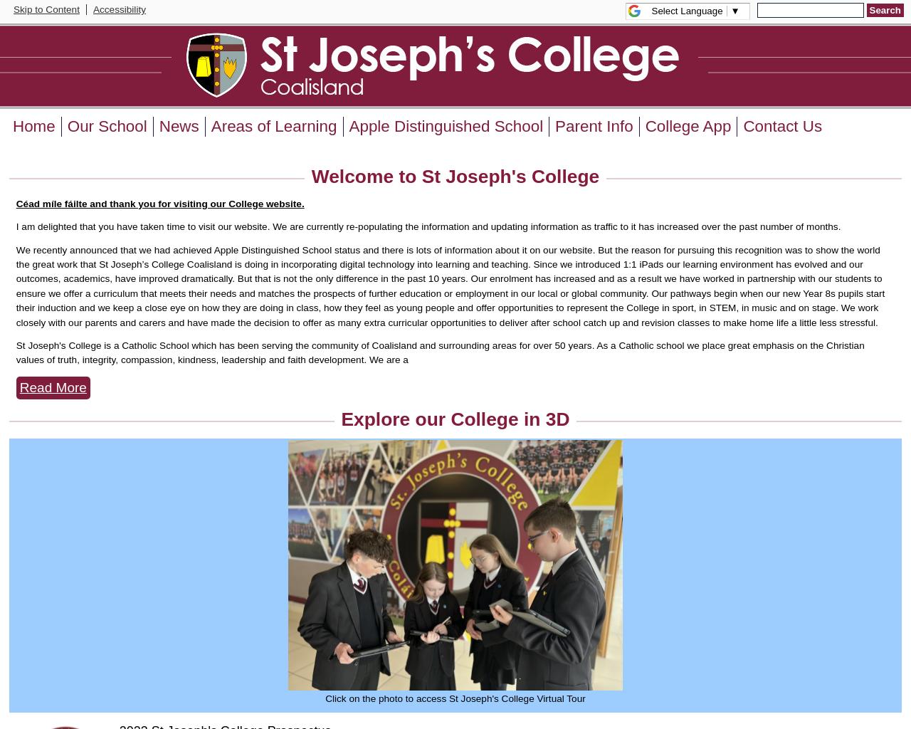 St Joseph's College Coalisland