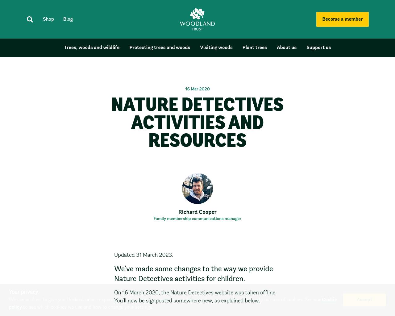 Nature Dectectives
