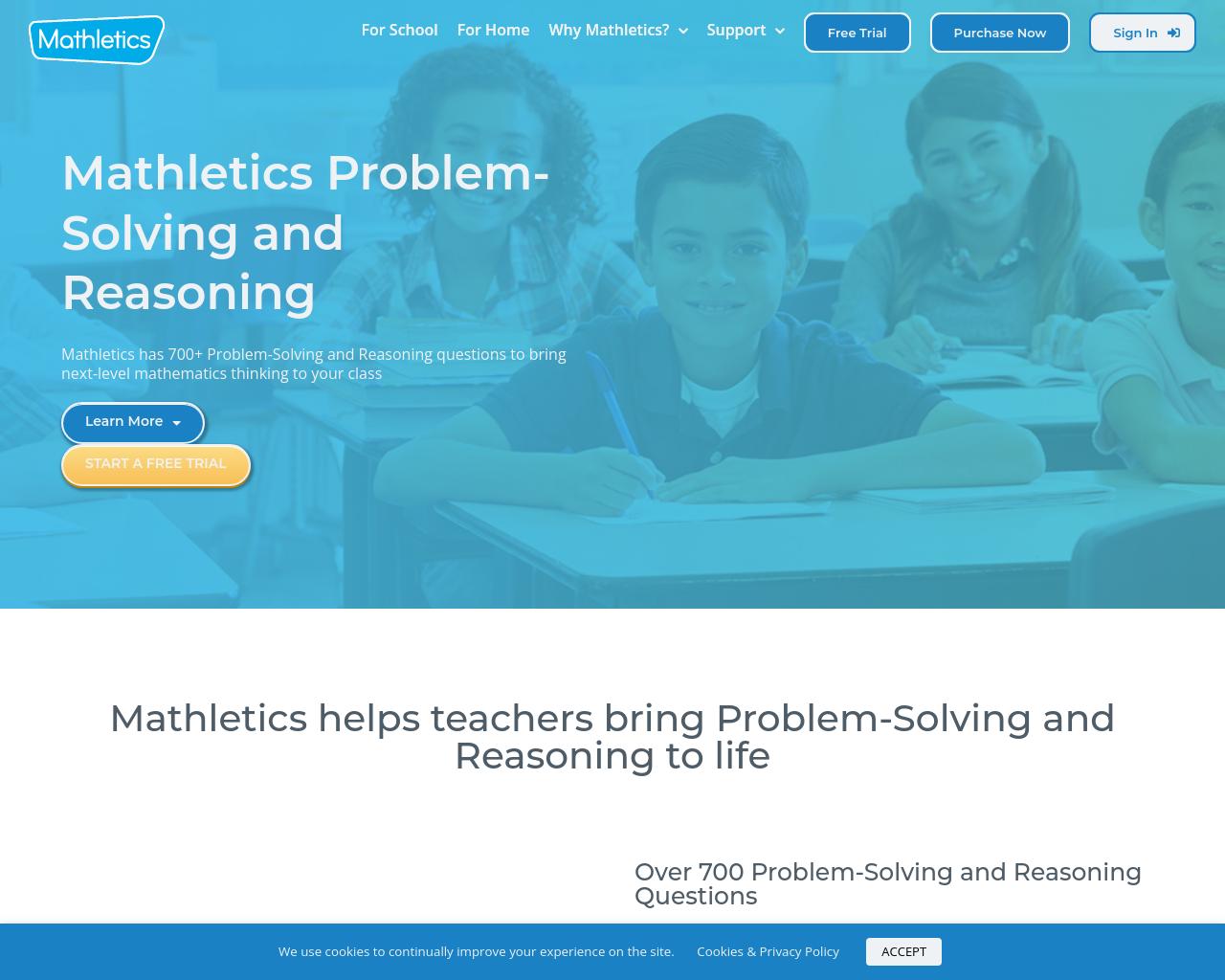 Mathletics Problem Solving and Reasoning