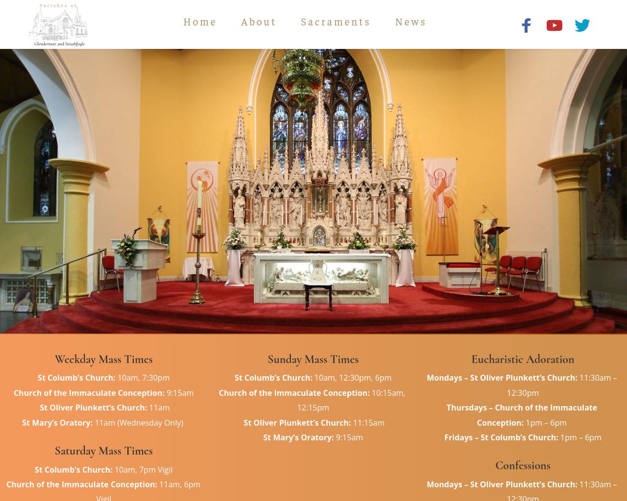 Waterside Parish Website