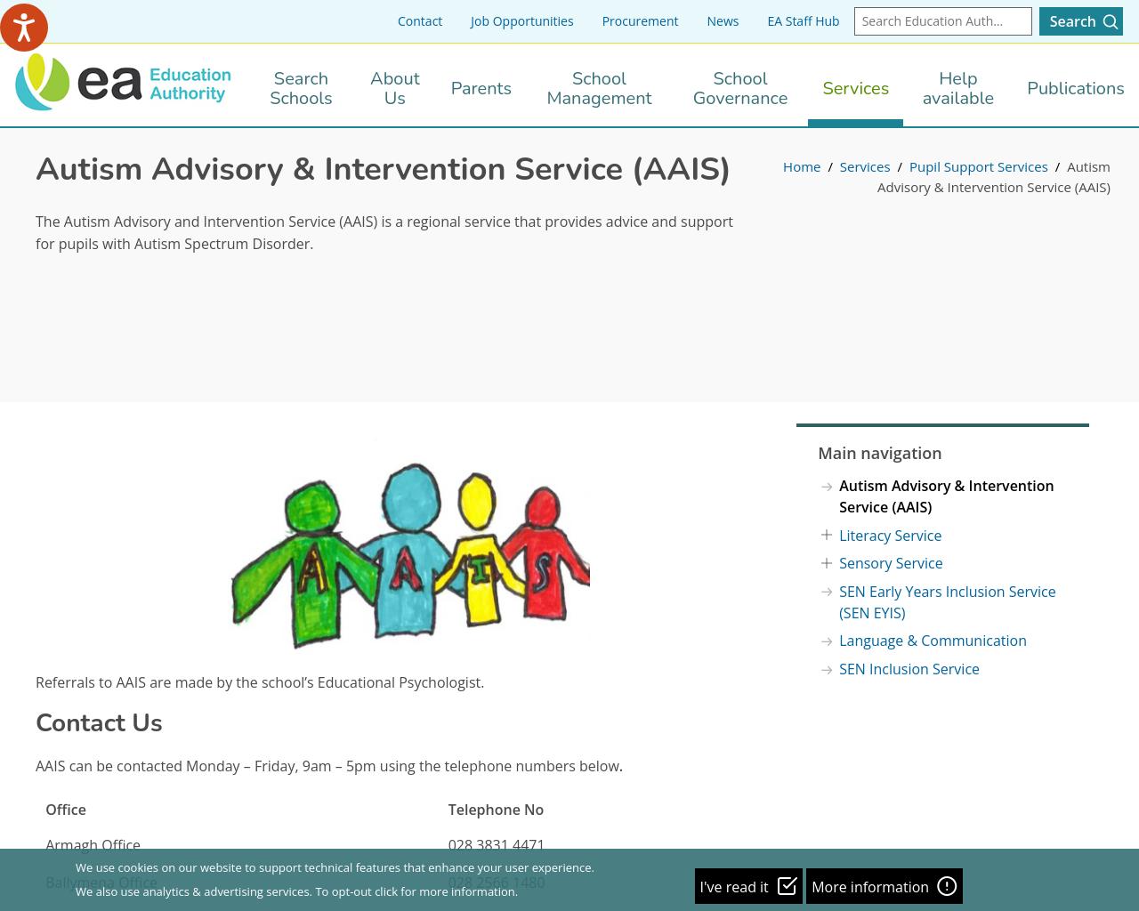 EA: AAIS Service