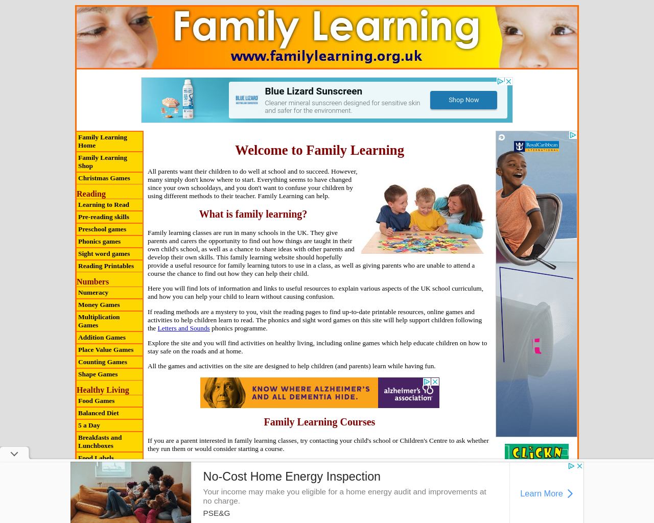 Family Learning
