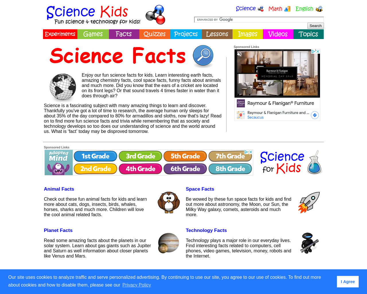 Fun Science Facts for Kids