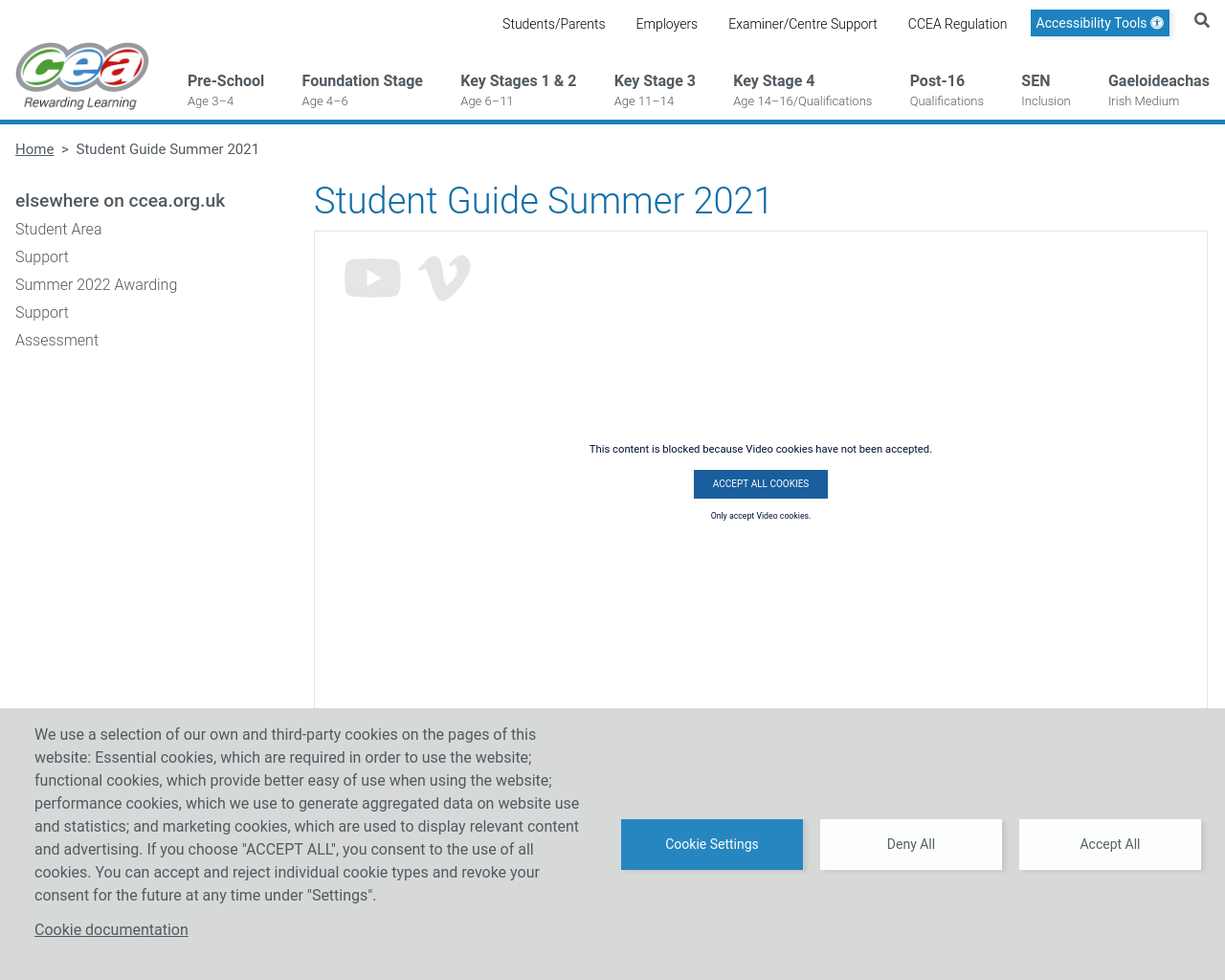 Student Guide Summer 2021