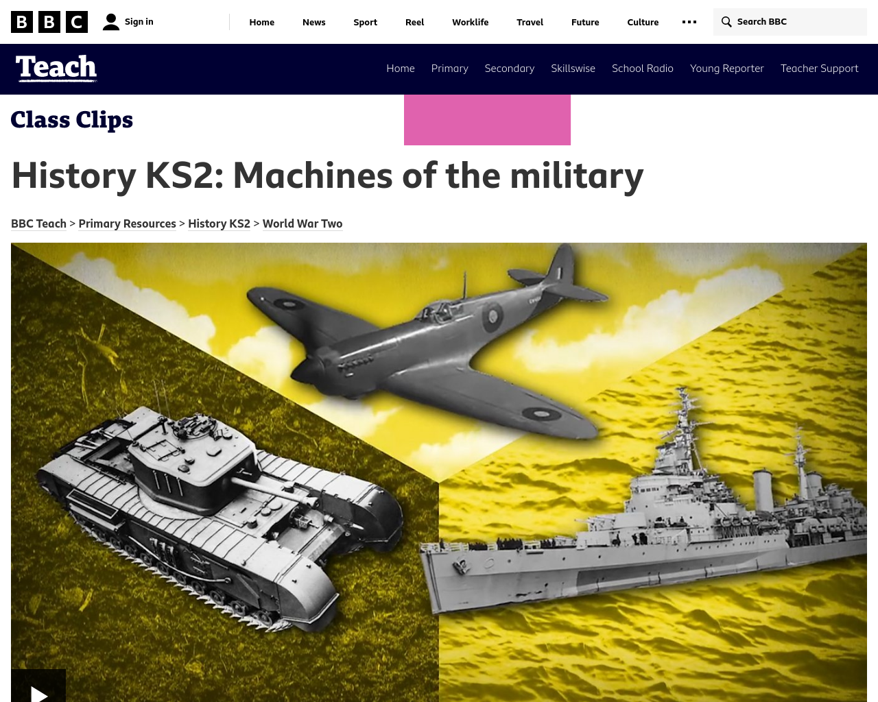 Machines of the Military
