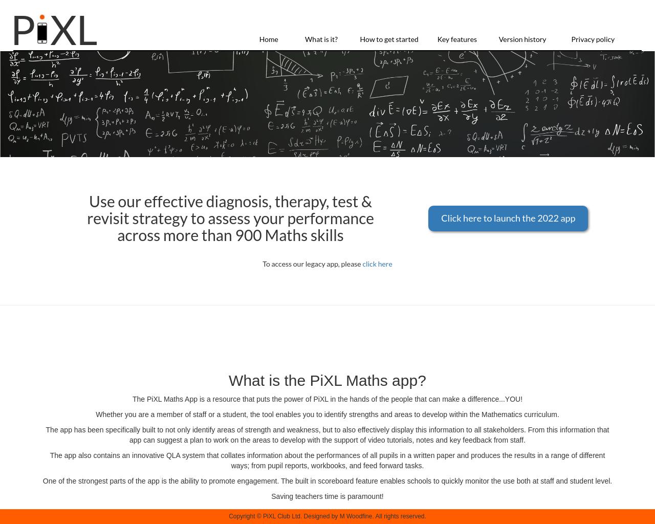 PIXL Maths App